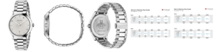 Gucci Unisex Swiss G-Timeless Stainless Steel Bracelet Watch 38mm