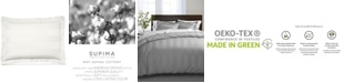 """Charter Club 3"""" Stripe 100% Supima Cotton 550 Thread Count Sham, King, Created for Macy's"""