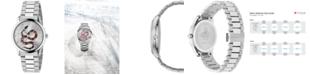 Gucci Men's Swiss G-Timeless Stainless Steel Bracelet Watch 38mm