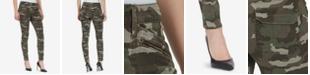 WILLIAM RAST Jane Skinny Camo Cargo Pants