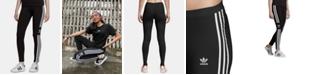adidas Women's Adicolor Trefoil Full Length Leggings