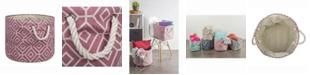 Design Imports Design Import Storage Bin Stained Glass, Round