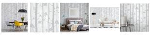 "Brewster Home Fashions Sydow Birch Tree Wallpaper - 396"" x 20.5"" x 0.025"""