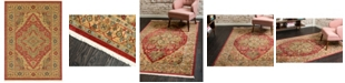 "Bridgeport Home Harik Har9 Red 8' 2"" x 11' Area Rug"