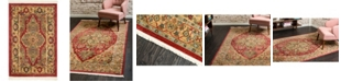 """Bridgeport Home Harik Har9 Red 2' 2"""" x 3' Area Rug"""