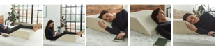 Brentwood Home Zuma Leg Rest Therapeutic Foam Wedge Pillow