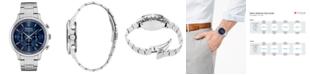 Seiko Men's Chronograph Essentials Slim Stainless Steel Bracelet Watch 43.3mm