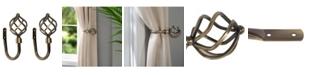 Home Details Royal Twist Curtain Holdbacks, Pack of 2