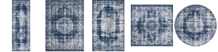 Bridgeport Home Anika Ani1 Navy Blue Area Rug Collection