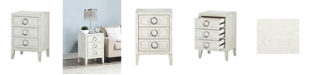 Coast to Coast Three Drawer Chairside Table