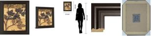 "Classy Art Bronzed Branches II by Norman Wyatt Jr. Framed Print Wall Art, 22"" x 26"""