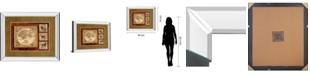 "Classy Art Journey To Africa II by Tava Studio Mirror Framed Print Wall Art, 34"" x 40"""