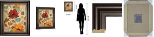 "Classy Art Vibrant Embroidery II by Silvia Vassileva Framed Print Wall Art, 22"" x 26"""