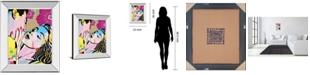 """Classy Art Midnight Kiss by Tom Frazier Mirror Framed Print Wall Art, 22"""" x 26"""""""