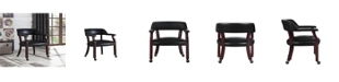 Coaster Home Furnishings Caribou Office Chair with Nailhead Trim