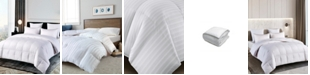 Blue Ridge 500 Thread Count Damask Stripe Duraloft® Down Alternative Full/Queen Comforter