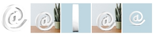Crystal Art Gallery American Art Decor Resin at Symbol Sign Table Top Sculpture Decor