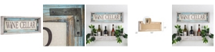 Crystal Art Gallery American Art Decor Rustic Wine Cellar Canvas Sign