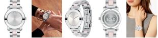 Movado Women's Swiss BOLD Two-Tone Stainless Steel Bracelet Watch 36mm