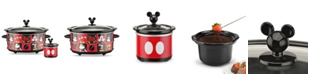 Disney Mickey Mouse 5-Quart Slow Cooker with 20 Ounce Dipper