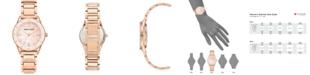 Anne Klein Women's Rose Gold-Tone Bracelet Watch 33mm