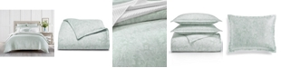 Charter Club Sleep Luxe Aloe Scroll Cotton 800 Thread Count 3 Pc. Comforter Set, Full/Queen, Created for Macy's