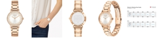 COACH Women's Perry Rose Gold-Tone Bracelet Watch 28mm