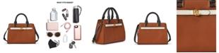 Lauren Ralph Lauren Leather Fenwick Crossbody Bag