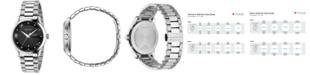 Gucci Unisex Swiss G-Timeless Diamond Accent Stainless Steel Bracelet Watch 38mm YA126456