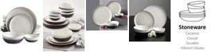 Gibson Rhinebeck 16 Piece Stoneware Dinnerware Set