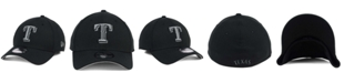 New Era Texas Rangers Black and Charcoal Classic 39THIRTY Cap