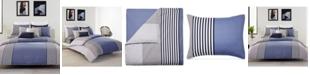 Lacoste Home Lacoste Meribel Colorblocked Full/Queen Reversible Comforter Set