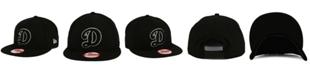 New Era Oklahoma City Dodgers Black White 9FIFTY Snapback Cap