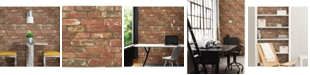 Brewster Home Fashions West End Brick Peel And Stick Wallpaper