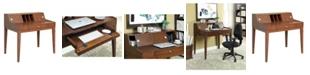 Furniture of America Butch Cherry Writing Desk