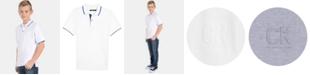 Calvin Klein Big Boys Embossed Polo