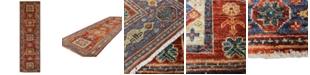 "BB Rugs Pak Tribal 598098 Rust 2'8"" x 9'11"" Runner Area Rug"