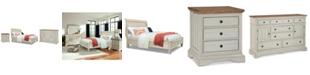 Furniture Cottage Solid Wood Bedroom Furniture, 3-Pc. Set (King, Nightstand & Dresser)