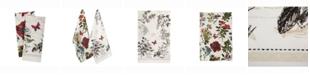 Design Imports Botanical Blooms Dishtowel Set of 2