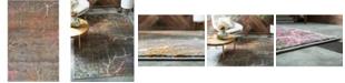 Bridgeport Home Aroa Aro1 Gray 5' x 8' Area Rug