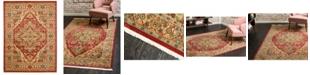 Bridgeport Home Harik Har9 Red 10' x 13' Area Rug