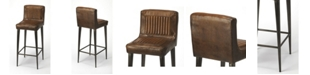 Butler Specialty Butler Maxwell Leather Bar Stool