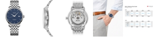 Mido Men's Swiss Automatic Baroncelli Stainless Steel Bracelet Watch 40mm