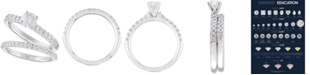 Macy's Diamond Bridal Set (1-1/5 ct. t.w.) in 14k White Gold