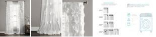 "Lush Decor Riley 108""x54"" Single Window Panel"