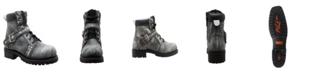 """AdTec Men's 6"""" Lace Zipper Boot"""