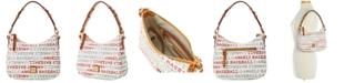 Dooney & Bourke Los Angeles Angels Small Kiley Hobo Bag