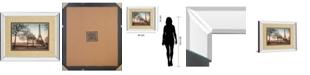 "Classy Art Remembering Paris by Assaf Frank Mirror Framed Print Wall Art - 34"" x 40"""