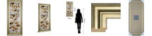 "Classy Art Romantica Panel I by Emma Hill Framed Print Wall Art, 18"" x 42"""