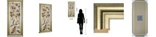 "Classy Art Romantica Panel III by Emma Hill Framed Print Wall Art, 18"" x 42"""